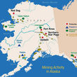 Alaska mines development and mineral exploration projects AMA
