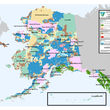 Who owns Alaska map - federal state Alaska Native corporations