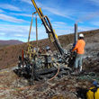 High grade gold exploration drilling JP Ross property White Gold District