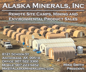Alaska mineral mining remote camp services environmental product sales