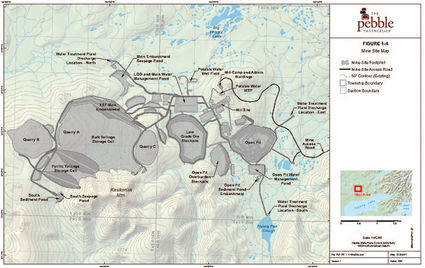 Army Corps of Engineers Pebble Mine permitting Bristol Bay Southwest Alaska
