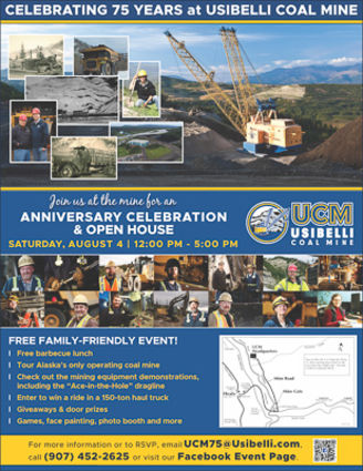 Usibelli Coal Mine 75th Anniversary Healy Alaska
