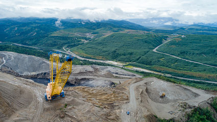 UCM coal mining Healy Alaska low-sulfur coal low-cost electricity