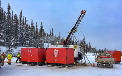 Gold exploration drilling Yellowknife Northwest Territories, NWT, TerraX