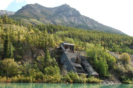 Historic high grade Engineer gold mine property near Atlin BC
